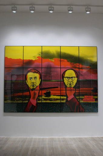 Exhibition Lighting Design Gilbert and George